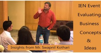 Session on Evaluating Business Concepts & Ideas