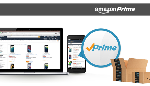 Amazon starts Prime service for delivery in India