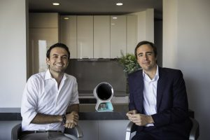 James Wyman, Co-founder, (left) with Emanuele Musini, CEO, (right)