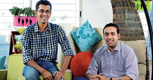 Ashish Goel and Ravi Rajiv Srivatsa of Urban Ladder