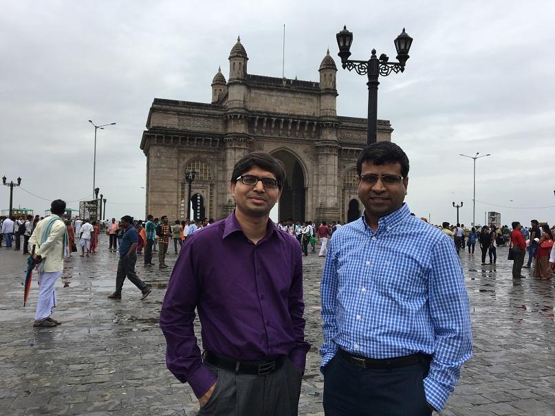 Nilesh Pawaskar [L] & Sunil Chaula [R]