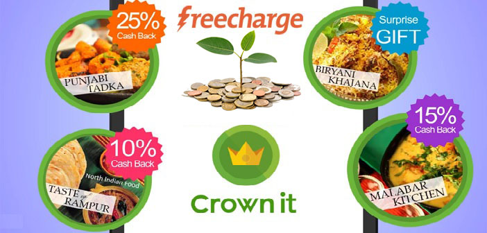 Freecharge Charges Crownit with Undisclosed amount of Funding