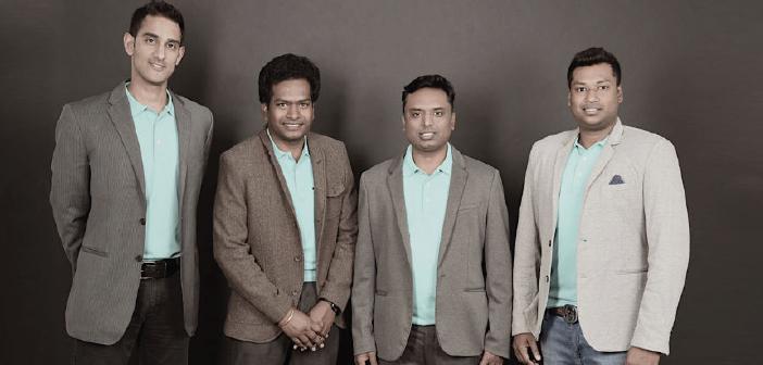 From (L to R) Sunny Ray, Sathvik Vishwanath, Harish B V, Abhinand Kaseti