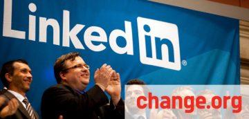 Change.Org Grabs Big Investment From LinkedIn Founder, Reid Hoffman