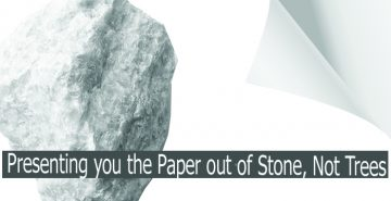Japanese Startup; TBM Makes Paper Out Of Stone