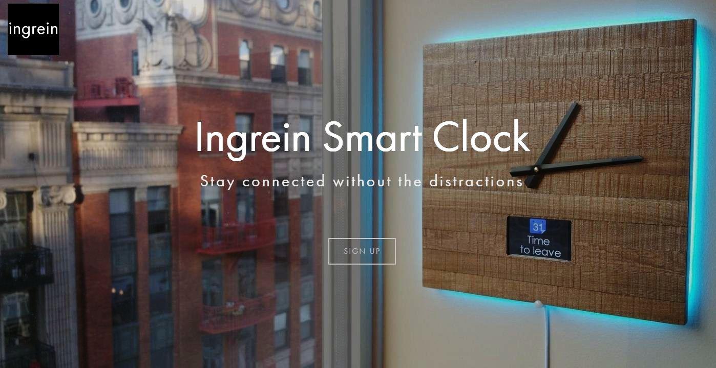 Ingrein Smart Wall Clock