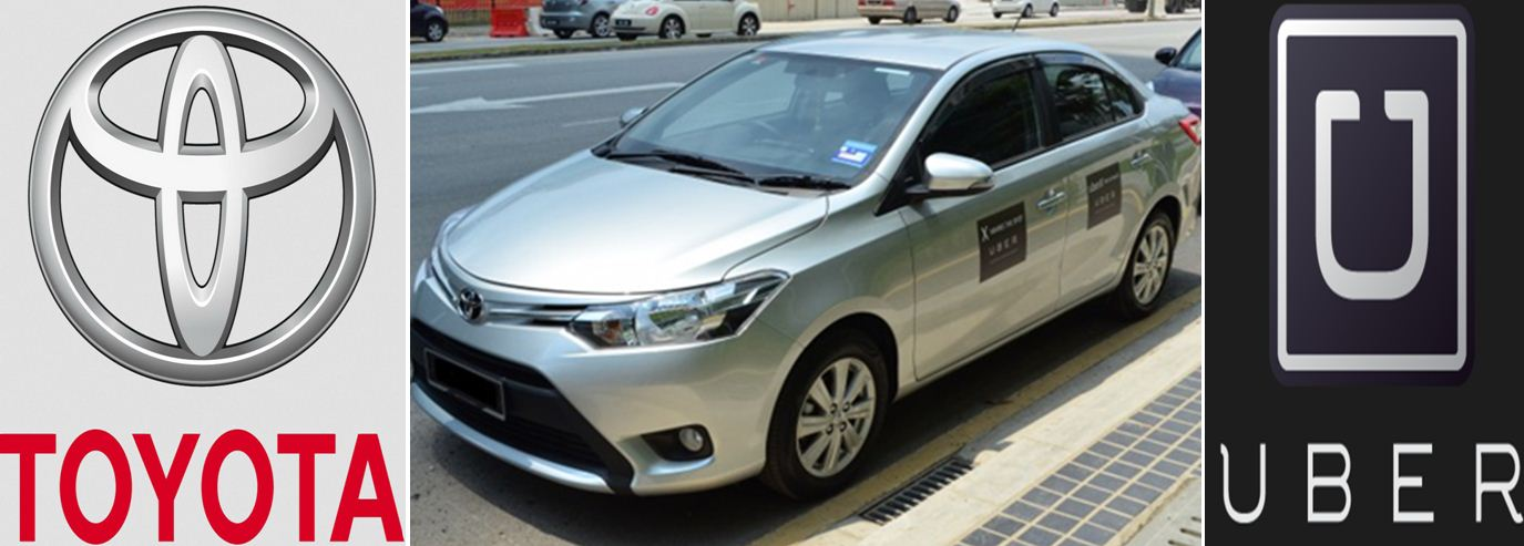Toyota Strategically Invests in Uber