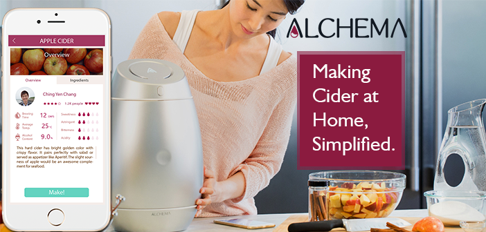 Alchema Helps You Make Your Own Homebrewed Cider