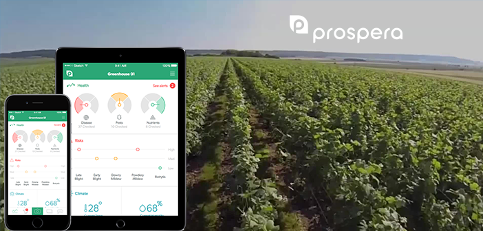 Prospsera develops Crop Monitoring System, Raises $7 Million Funding