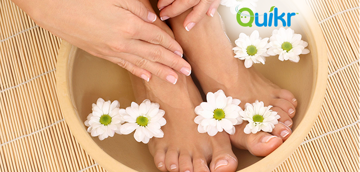 Quikr Launches its new home beauty service, AtHomeDiva