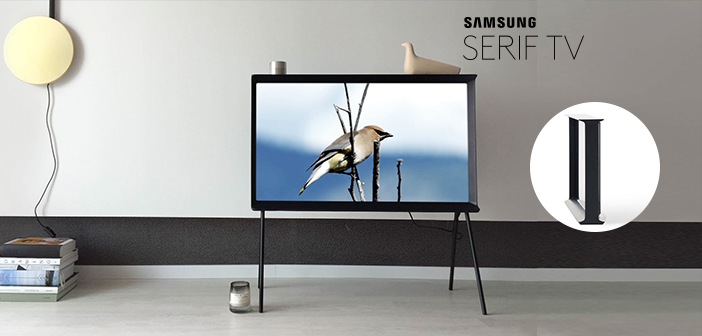 samsung 39 s serif tv launches in us. Black Bedroom Furniture Sets. Home Design Ideas