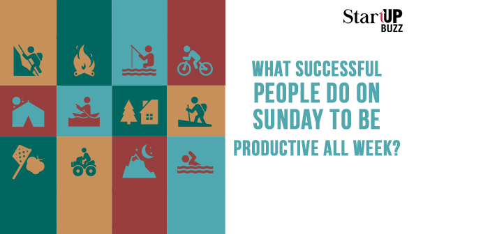 sunday to be productive
