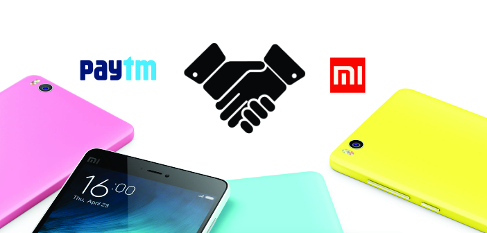 Xiomi SmartPhones to be Available on Paytm Soon