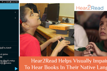 Hear2Read Helps Visually Impaired To Hear Books In Their Native Language