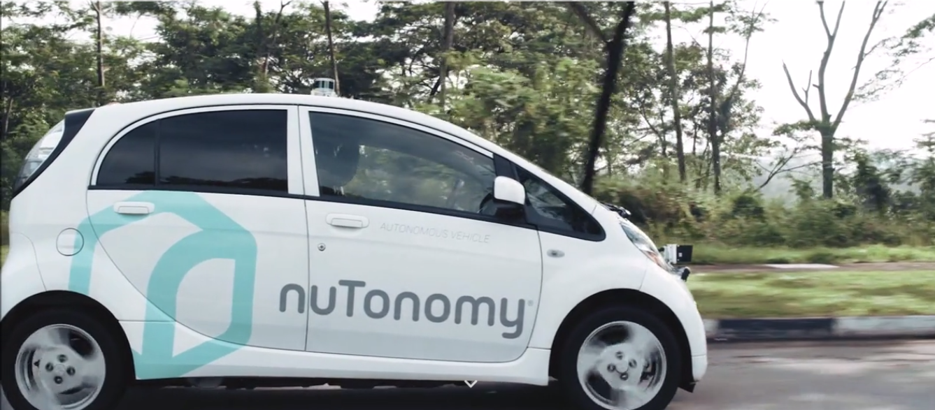 nuTonomy Launches World's First Public Trial of Self-Driving Car Service and Ride-Hailing App