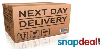 Free Next Day Delivery Service from Snapdeal