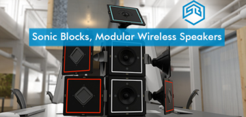 startup, startup buzz, Sonic Blocks, Modular Wireless Speakers, Smart Speakers, New York, US