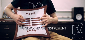 New electronic instrument 'Mune' Designed by a Team at Memorial University