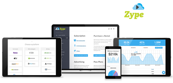 Video distribution startup zype raises 2m it s all about for 2m distribution