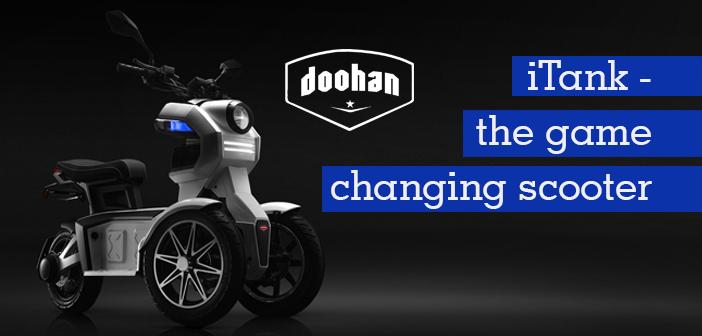 iTank : The New Revolutionary Three-Wheeled Scooter