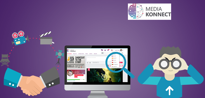 Media Konnect, Platform for Talent Exchange