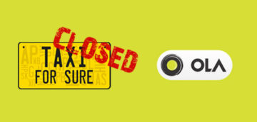 TaxiForSure shutting down- Ola resource crunch leads to lay-offs and migration of employees