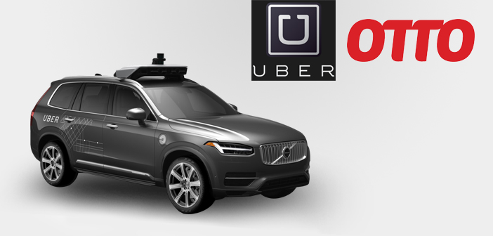Otto Merges with Uber to Add in Uber's Self-Driving Car Effort