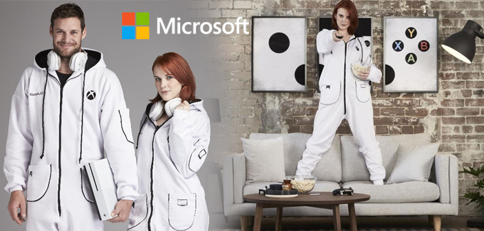 Microsoft launches the Xbox Onesie jumpsuit in Australian Stores