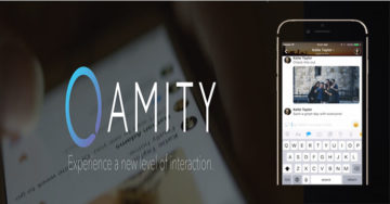 Amity − A New Interactive Messaging App for Both Android As Well As iOS.