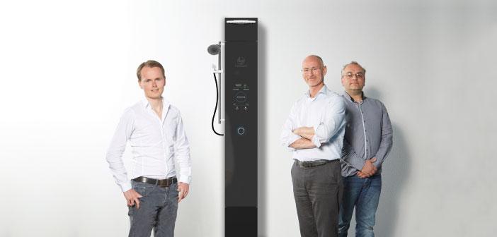 Hamwells' e-Shower: World's First Water Recycling Shower