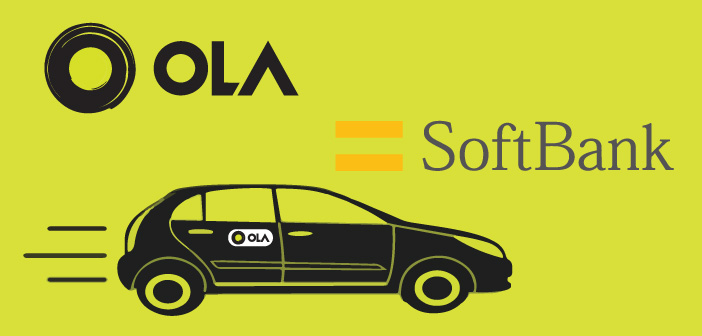 Ola To Receive Big Investment From Softbank