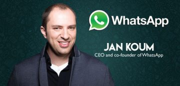Story Of Jan Koum – Ceo and Co-founder of Whatsapp