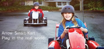 Actev Motors Launches World's First 'Smart-Kart' For Kids