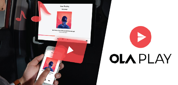 Ola partners up with Apple Music, Qualcomm, and Sony Digital to introduce Ola Play