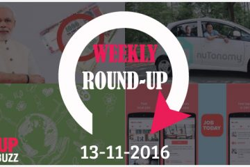 Startup-Buzz Weekly Round-Up