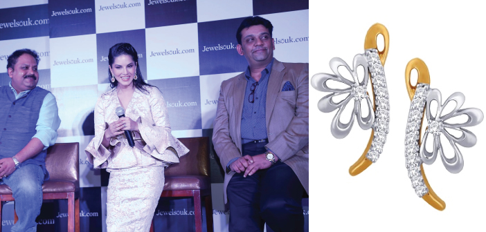 Sunny Leone Becomes The New Brand Ambassador Of Jewelsouk.Com
