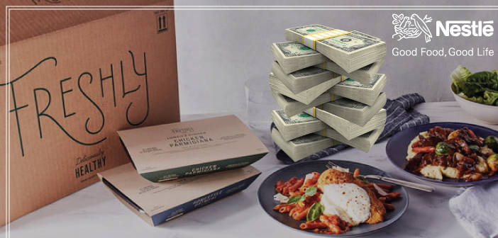 Nestlé USA Leads $77M Funding Round In Healthy Meal Startup Freshly