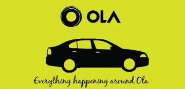 Ola Cabs Aims Profitability by 2019